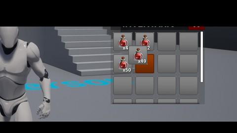 Unreal Engine 4: Sistema de inventário e sobrevivência