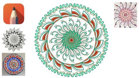 Dijital Mandala Çizimi Atölyesi   Autodesk Sketchbook