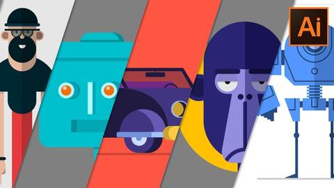 Adobe Illustrator - Illustrations Vectorielles pour Débutant