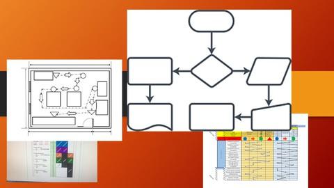 Conoce que diagramas se utilizan en la Ingeniería Industrial