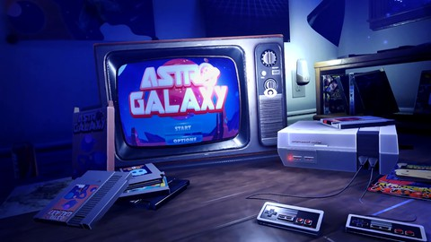Creating games without code!  The Astro Galaxy Game Room