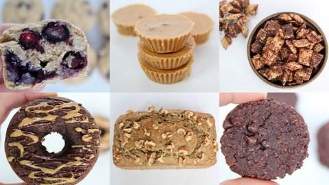 Healthy Desserts: Vegan, Plant Based, Low Sugar, Dairy Free
