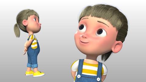 Creando personajes infantiles para animación en Maya