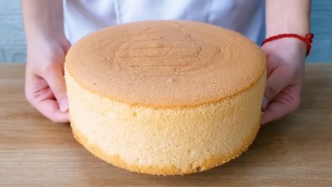 Learning to bake 4 kinds of Sponge Cake