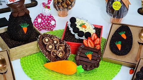 Templado de Chocolate y Producción de Huevo de Pascua