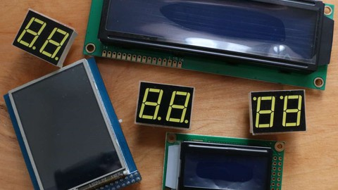 Atmel AVR microcontrollers connection to any displays.