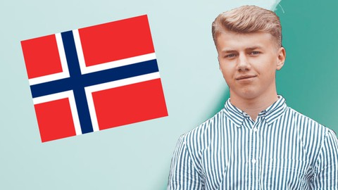 Learn Norwegian for Beginners in 150 Lessons (A1 & A2 Level)