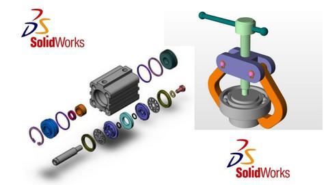 SolidWorks 2021: Démarrez sur SolidWorks par la pratique