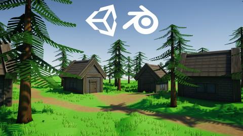 Pelimaailman luonti Unityssä itse tehdyillä peliobjekteilla