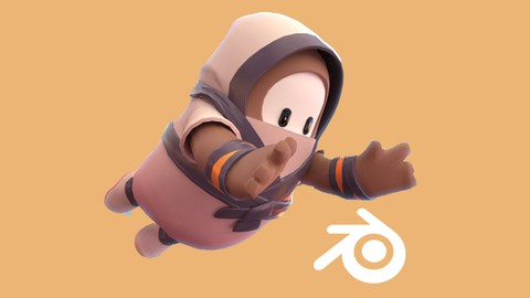 Create Fall Guys Characters with Blender
