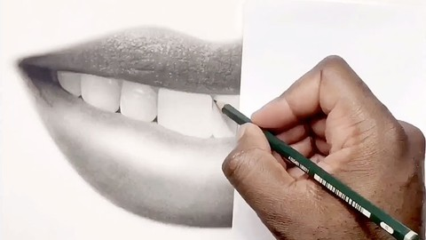 How to Draw Hyper Realistic Lips