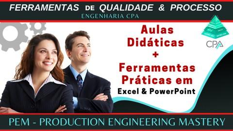 Especialista em Processo e Qualidade - Material em Excel/PPT