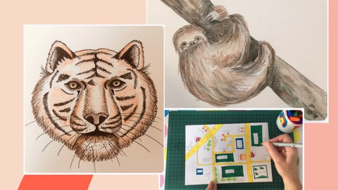 3 Drawing Lessons & Learn All About the Artist Arpita Singh.