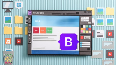 Bootstrap 5 for beginners from scratch with projects