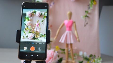Stop Motion com smartphone para criação de conteúdo online