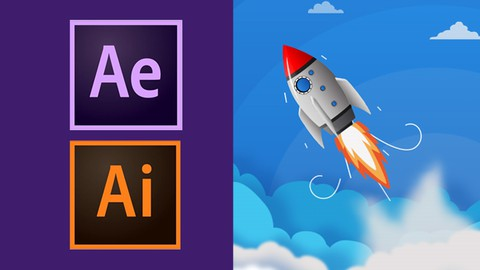 Make Awesome Motion Graphics in After Effects & Illustrator