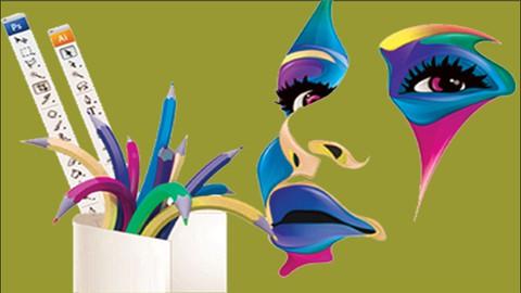 Graphic Design for beginners & Multiples Design tools