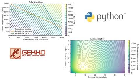 Otimização de processos em Python utilizando GEKKO/APMonitor