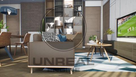 Unreal Engine Arch Viz كورس انريل انجن معماري  احترافي