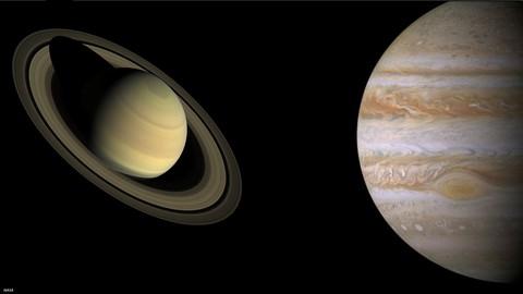 The Gas Giants: Jupiter & Saturn