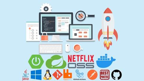 Microservices do 0 com Spring Cloud, Spring Boot e Docker