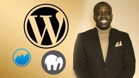 Creating a professional website using WordPress locally