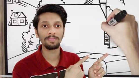 Complete White board animation training in Urdu/Hindi