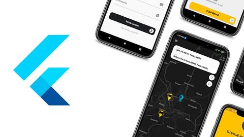 Crea una APP como UBER para IOS y Android con Flutter