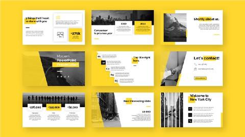 Modern PowerPoint Presentation Design 2021