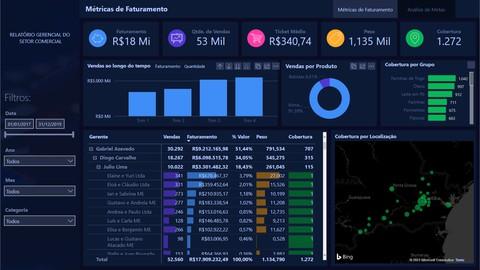 Curso de Data Studio - Construindo Dashboards Profissionais.