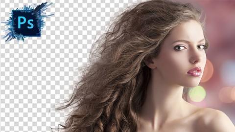 Ретушь волос в photoshop