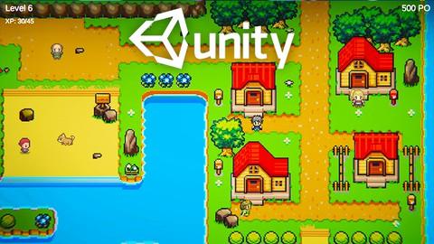 UNITY : Développer un RPG 2D avec C# - Formation complète