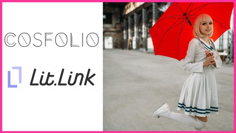 COSFOLIO(コスフォリオ)とlit.link(リットリンク)を使って、コスプレイヤーのWebページ簡単作成講