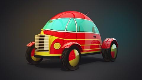 Model a Toy Car in Cinema 4D