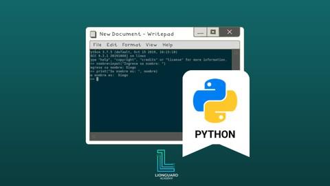 Curso Práctico de Python 3 de cero a EXPERTO +50 EJERCICIOS