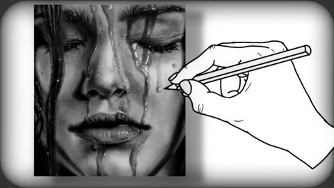 amazing tricks to draw using charcoal