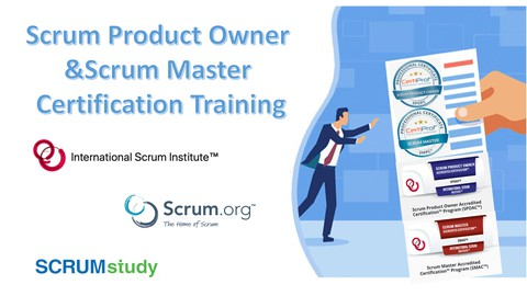 Professional Scrum Master y Product Owner (Garantizado)