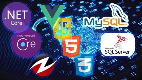 Asp.Net Core 5.0 & Vue JS From Zero to Hero 68 Hours Content