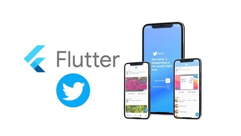 برمجة تطبيق تويتر مع فلاتر واسترابي-Twitter App With Flutter
