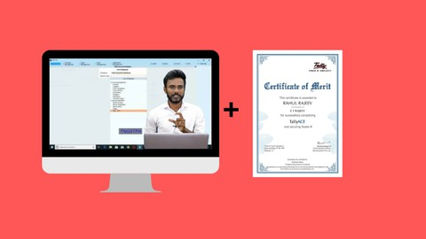 TallyPrime with GST I Official Tally Certification Course