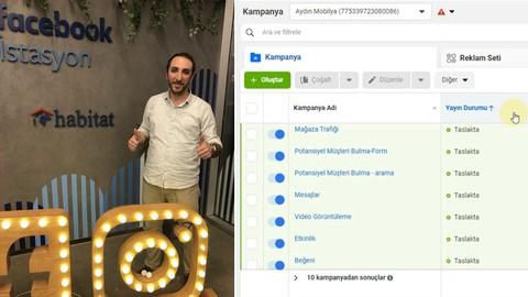 Profesyonel Facebook - İnstagram Reklamcılığı A'dan Z'ye