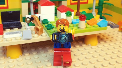Lego Stop Motion Animation Course for Beginners-Brickfilming