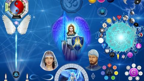 Mesa Radiônica Da Proteção Espiritual De Arcanjo Miguel