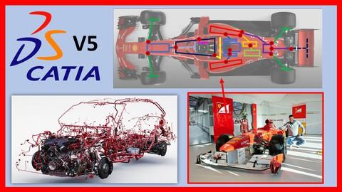 Catia V5 Electrical Harness Design - Automotive & Industrial