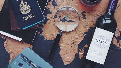 Seja um viajante independente - 3 cursos em 1
