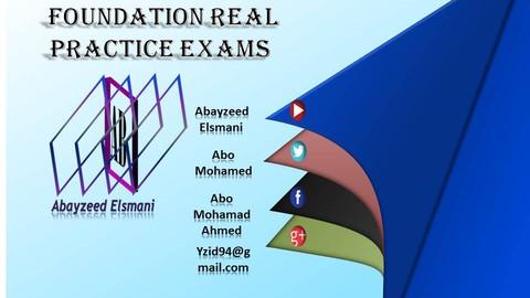 Foundation Real Practice Exam