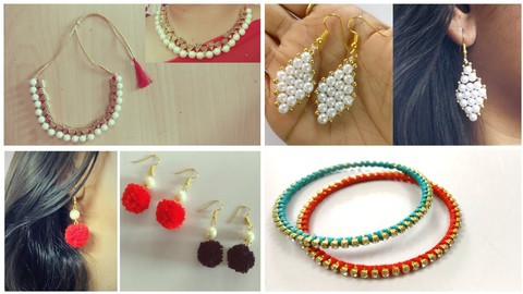 How to Make Handmade Jewelry and Make Studded jewelry Easily