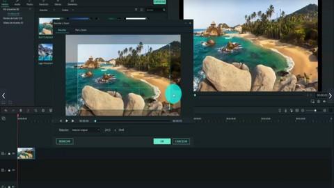 Usando Filmora para editar videos