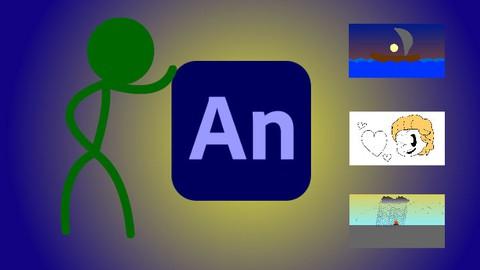 Animação 2D com Adobe Animate - Nível 1