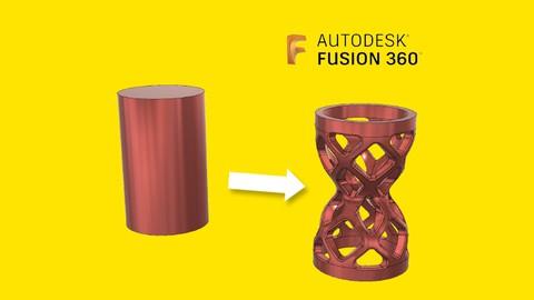 Aprende a modelar 3D con Fusion 360 desde cero